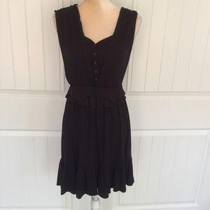 Marc Jacobs Black Dress Size Large